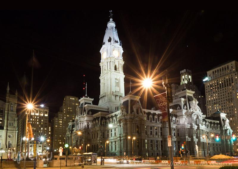 В городе Филадельфия, США / Фото из США