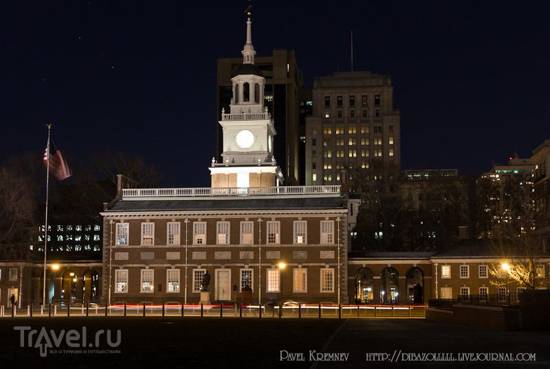 Independence Hall, Зал Независимостив Филадельфии, США / Фото из США