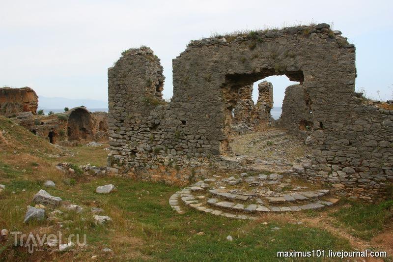 Анемуриум - самый южный город Малой Азии / Турция