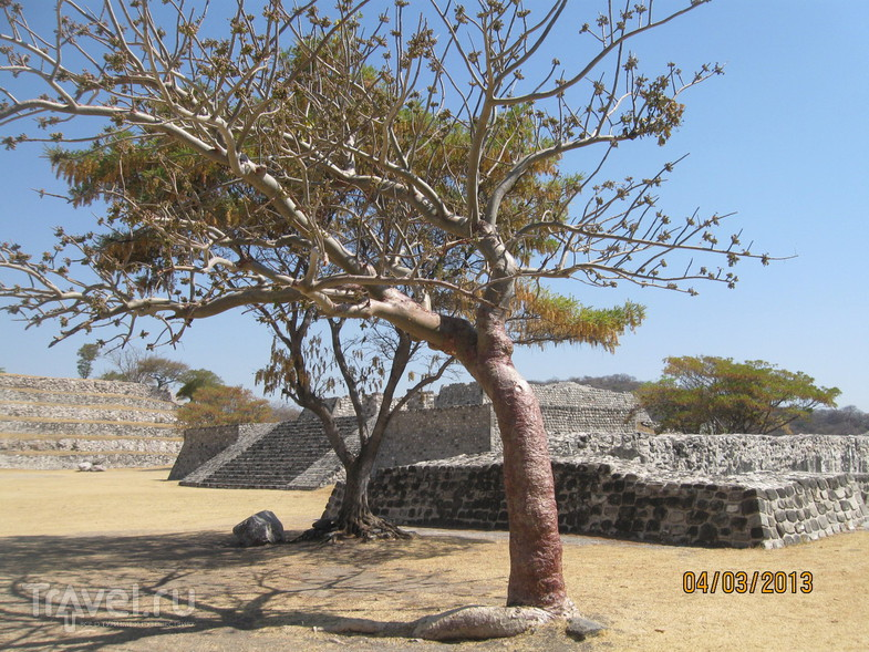Древний город Шочикалько / Мексика