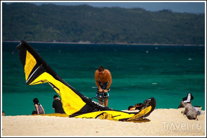 Боракай: кайтсёрфинг / Филиппины