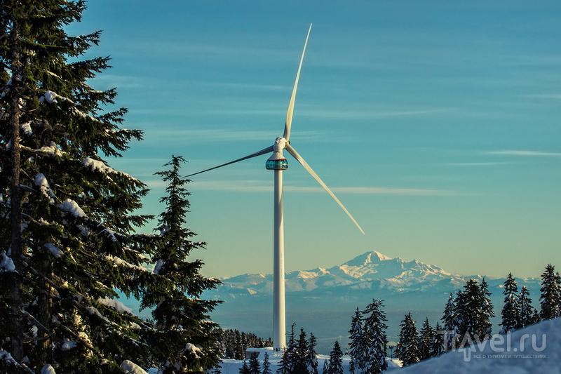 Первый в Северной Америке ветряк, построенный в условиях экстремальной высоты (1200 м) и погоды - Eye of the Wind / Фото из Канады