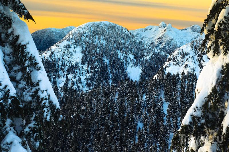 Зимний хайкинг на горе Грауз (Ванкувер, Канада) / Фото из Канады