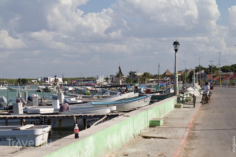 В городе Рио-Лагартос, Мексика / Фото из Мексики