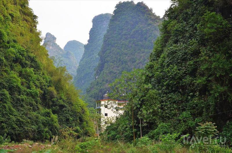 Пешая прогулка на 20 километров по окрестностям Яншо / Китай
