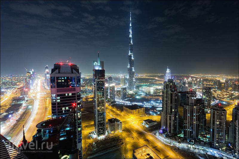 Бурдж-Халифа, Дубай / Фото из ОАЭ
