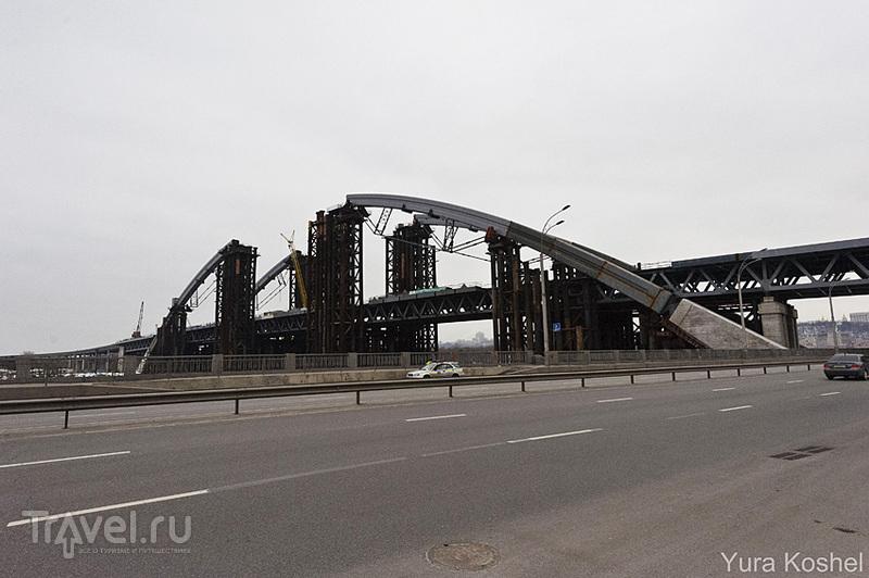 Подольский мост  в Киеве, Украина / Фото с Украины