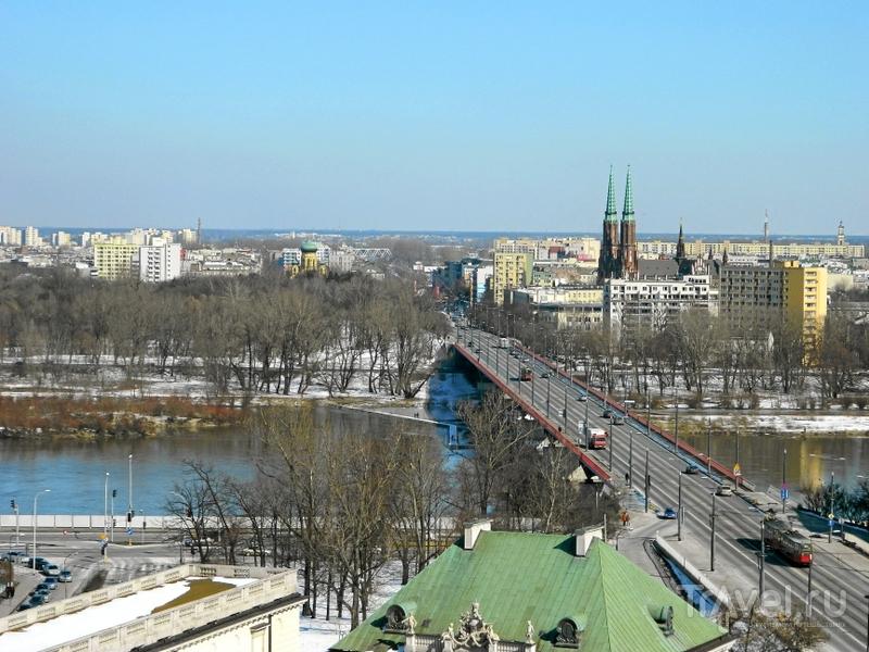 Река Висла в Варшаве, Польша / Фото из Польши