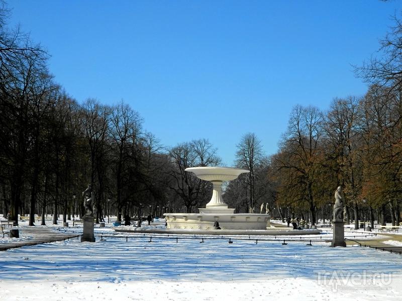 Саксонский сад в Варшаве, Польша / Фото из Польши