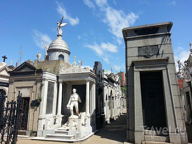 Кладбище Реколета (Cementerio de La Recoleta) в Буэнос-Айресе, Аргентина / Фото из Аргентины