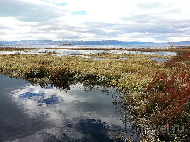 Озеро Нимес, Аргентина / Фото из Аргентины
