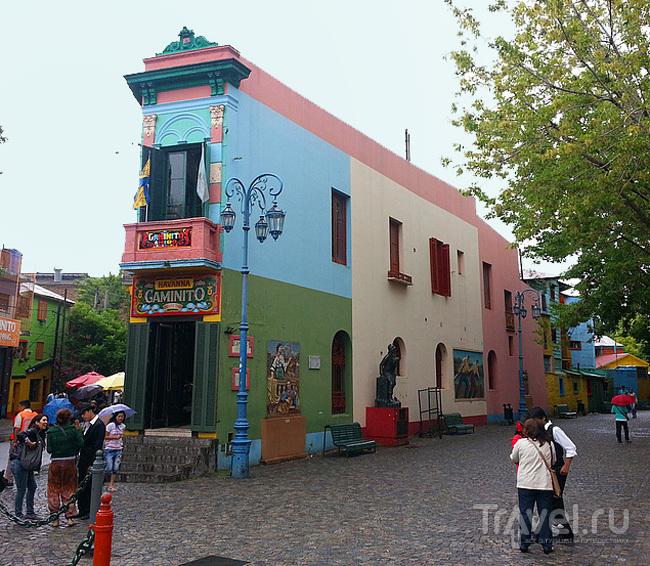 В квартале La Boca, Буэнос-Айрес, Аргентина / Фото из Аргентины