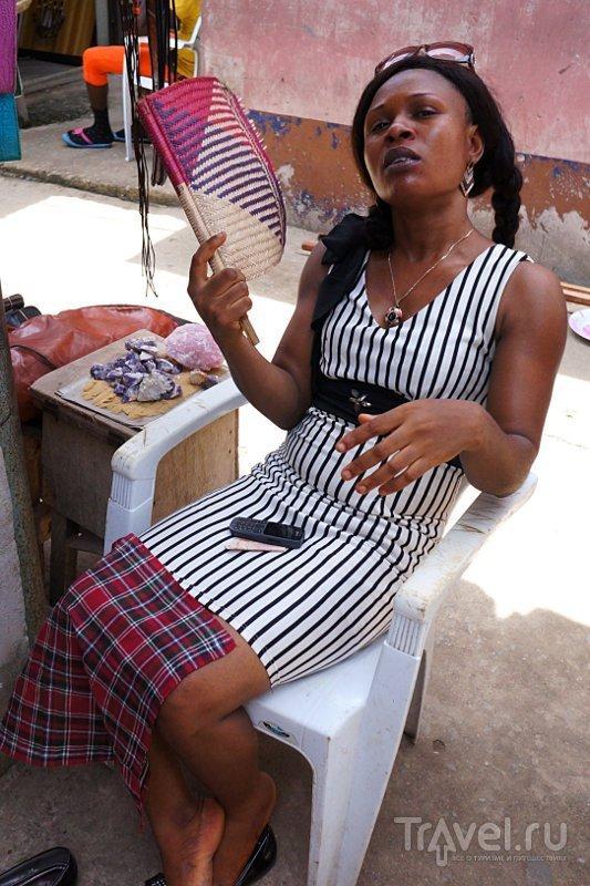 Рынок Лекки / Фото из Нигерии