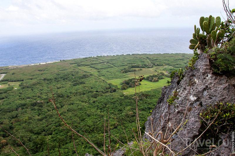 Banzai Cliff на Сайпане, Марианские острова / Фото с Марианских островов