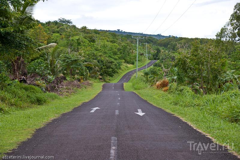 По лавовым полям Саваий / Фото с Западного Самоа