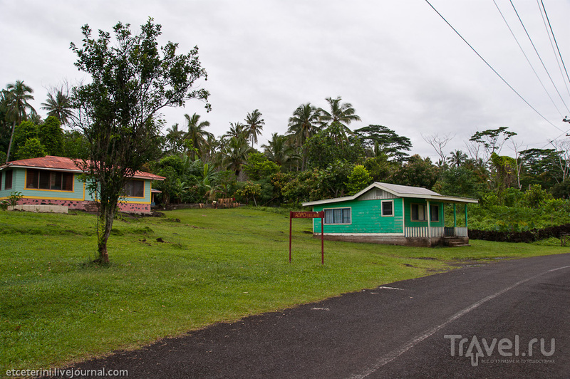 Деревня Апоа, Самоа / Фото с Западного Самоа