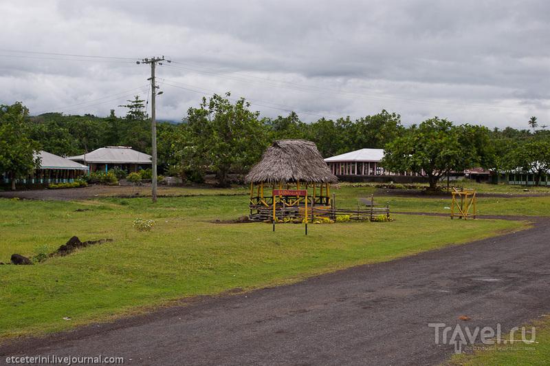 Деревня Сасина, Самоа / Фото с Западного Самоа