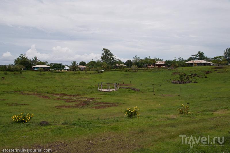 Деревня Мауга, Самоа / Фото с Западного Самоа