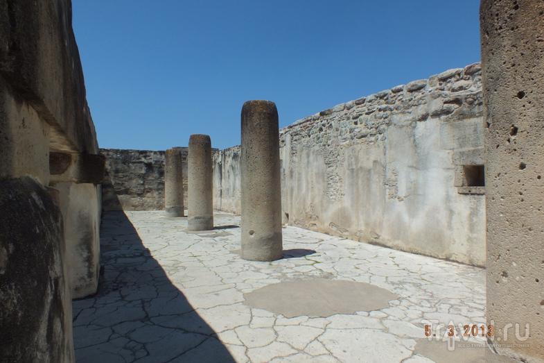 Оахака. Древний город Митла / Мексика