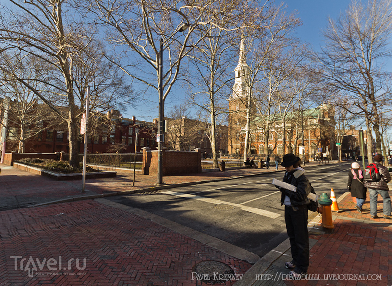 Филадельфия - город, где родились США / Фото из США