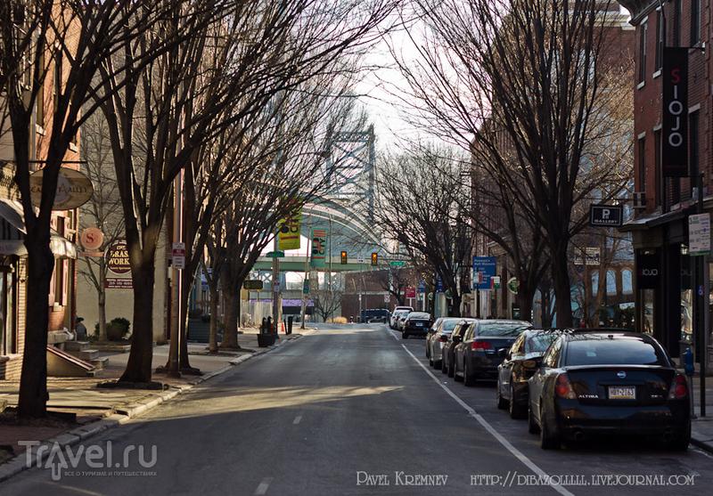 Аллея Элфрета в Филадельфии, США / Фото из США
