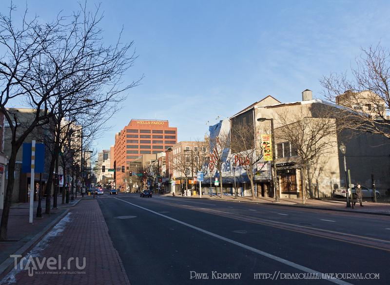 Market street в Филадельфии, США / Фото из США