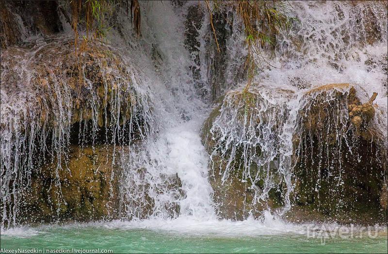 Тат Куанг Си. Лесной водопад в Лаосе / Лаос