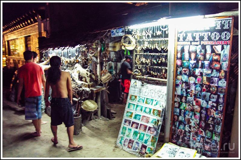 Боракай: Puka beach и вечерний White beach / Филиппины