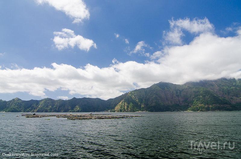 Озеро Батур на Бали, Индонезия / Фото из Индонезии