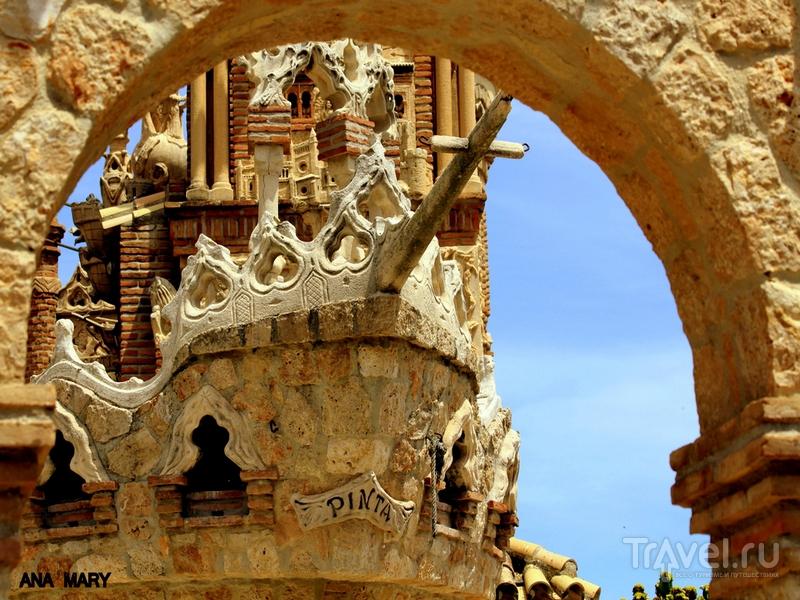 Архитектура замка Colomares, вобравшая в себя элементы византийского, готического и мавританского стилей, Испания / Испания