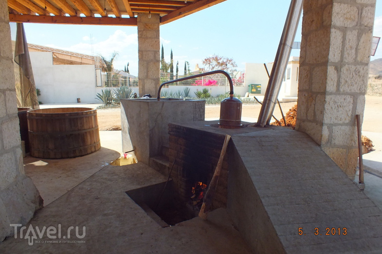 Оахака. Производство мескаля и Ткацкая фабрика / Мексика