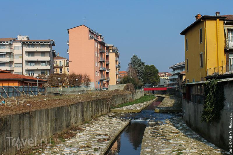 В городе Бергамо, Италия / Фото из Италии