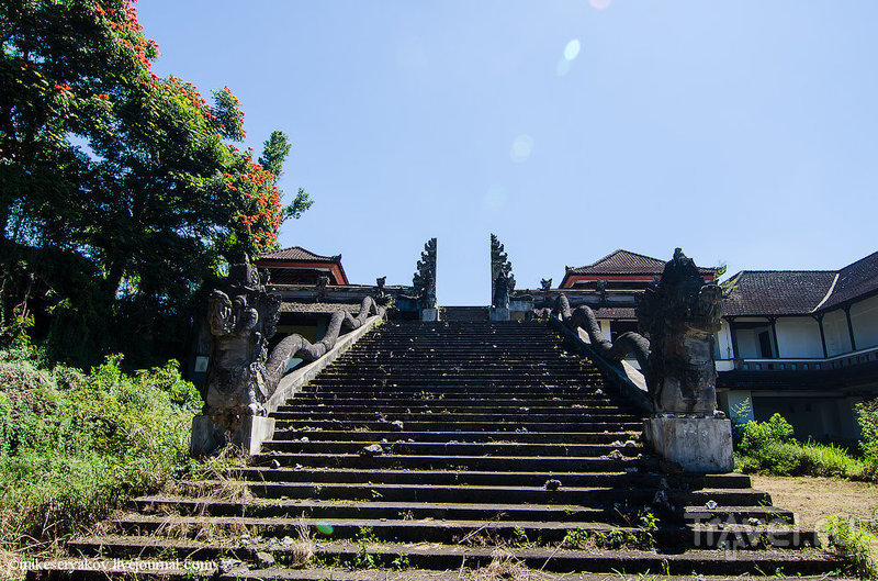 Зарисовки о Бали. Загадка заброшенного отеля / Индонезия