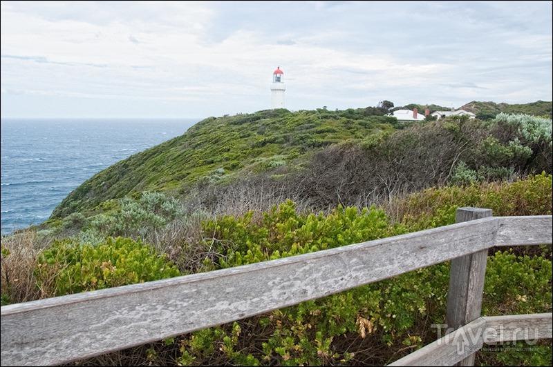 Маяк Cape Schanck на полуострове Морнингтон, Австралия / Фото из Австралии