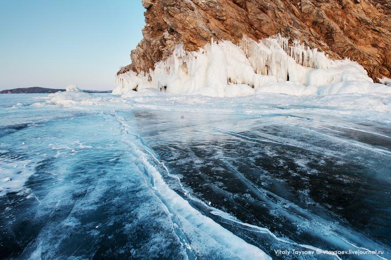 Зимняя сказка Байкала - о. Ольхон / Фото из России