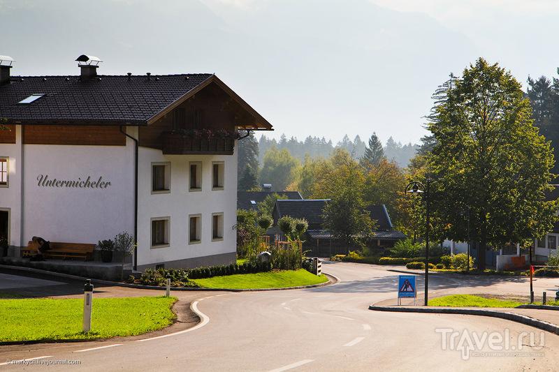 Окраина города Лиенц, Австрия / Фото из Австрии