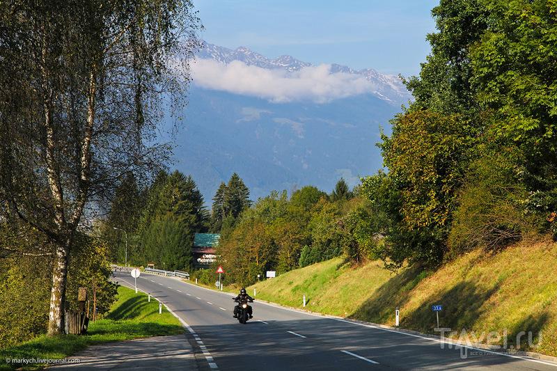 Панорамная дорога Гроссглокнер / Фото из Австрии