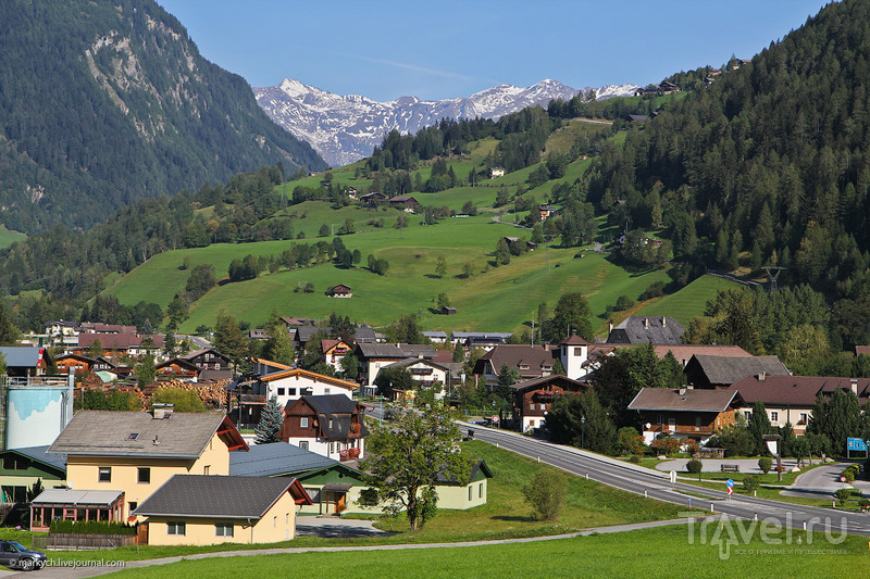 Дорога Гроссглокнер, Австрия / Фото из Австрии
