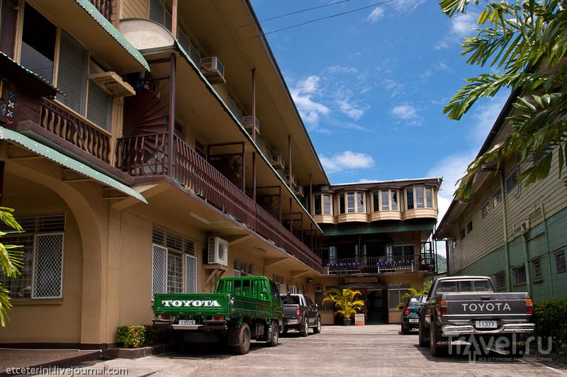 Отель Пасефика Инн в Апиа, Западное Самоа / Фото с Западного Самоа
