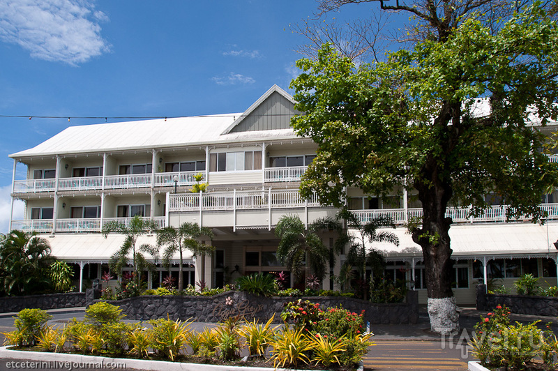 Отель Эдджи Грейс в Апиа, Западное Самоа / Фото с Западного Самоа