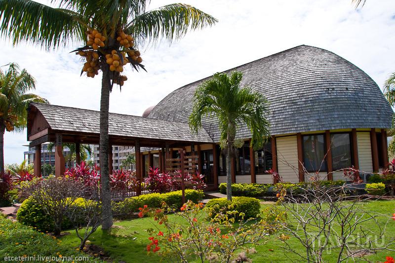 Туристический офис Самоа в Апиа / Фото с Западного Самоа
