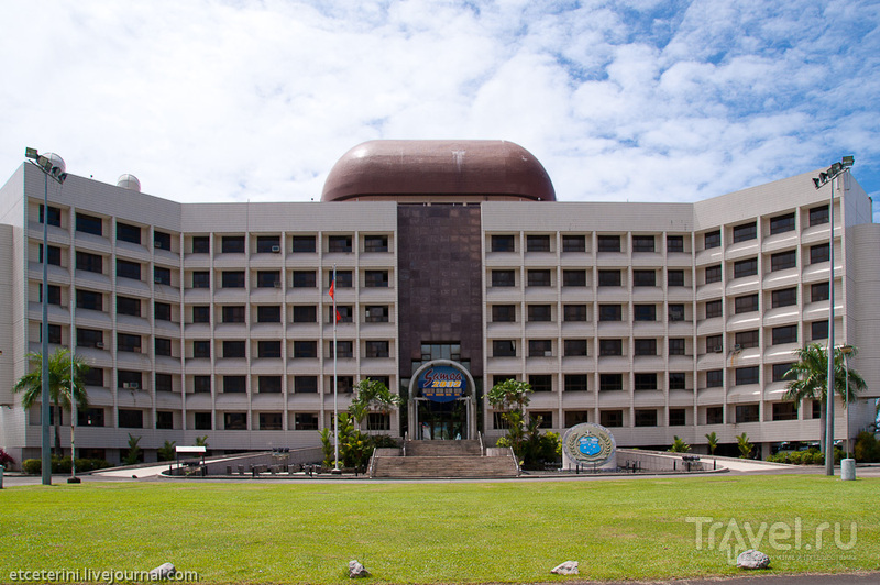 Здание правительства в Апиа, Западное Самоа / Фото с Западного Самоа
