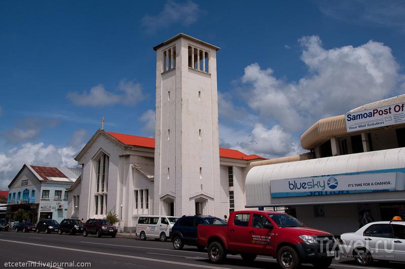 Кафедральный католический собор в Апиа, Западное Самоа / Фото с Западного Самоа