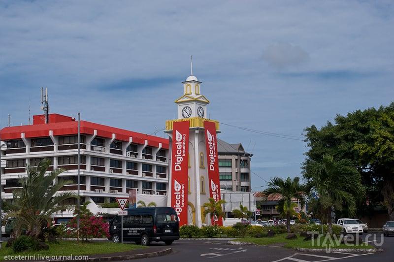 Самоа. Скромное обаяние Апиа / Фото с Западного Самоа