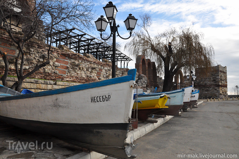 В городе Несебыр, Болгария / Фото из Болгарии
