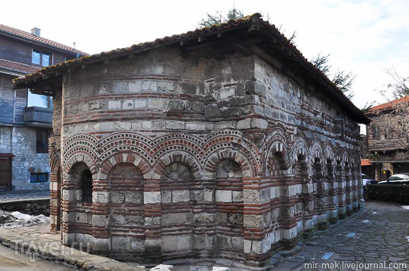Церковь Святой Параскевы в Несебыре, Болгария / Фото из Болгарии
