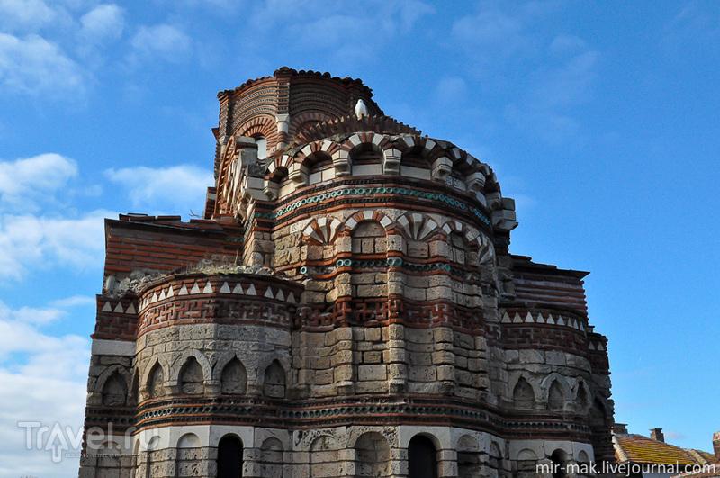 Храм Христа Пантократора в Несебыре, Болгария / Фото из Болгарии