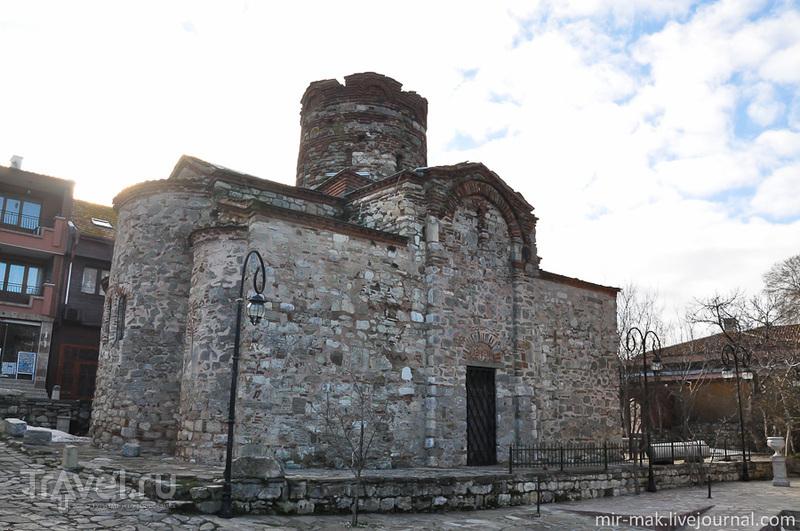 Церковь Святого Иоанна Крестителя в Несебыре, Болгария / Фото из Болгарии