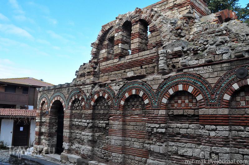 Церковь Святых архангелов Михаила и Гавриила в Несебыре, Болгария / Фото из Болгарии