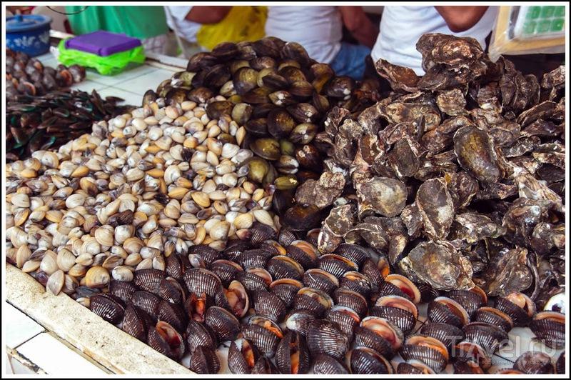 Боракай: рыбный день - d'talipapa / Филиппины